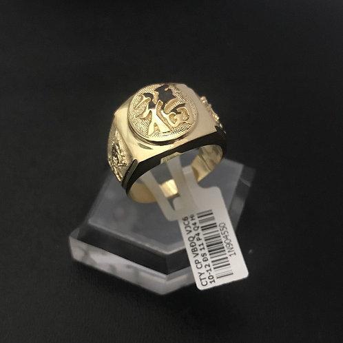 Nhẫn vàng nam chữ Phúc VJC 610