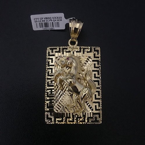 Mặt dây Ngựa vàng VJC 610