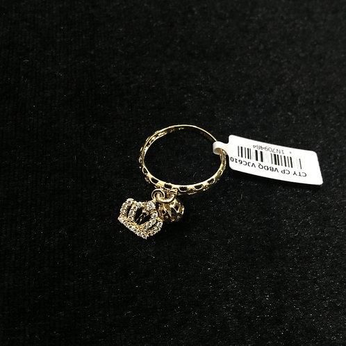 Nhẫn vàng vương miện - VJC 610