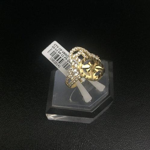Nhẫn vàng nữ đồng tiền đôi VJC 610