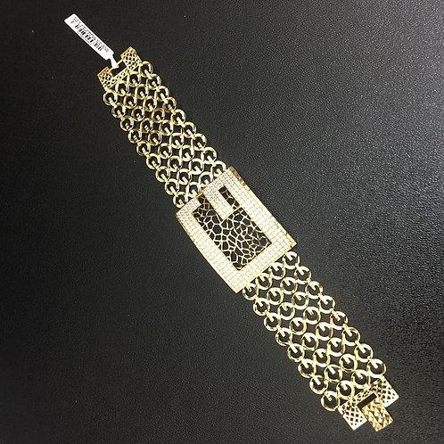 Lắc tay vàng nữ gucci VJC 610