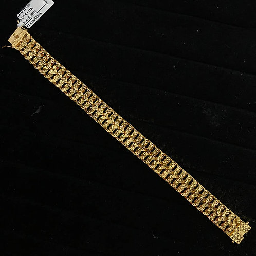 Lắc tay Nam vàng - VJC 610