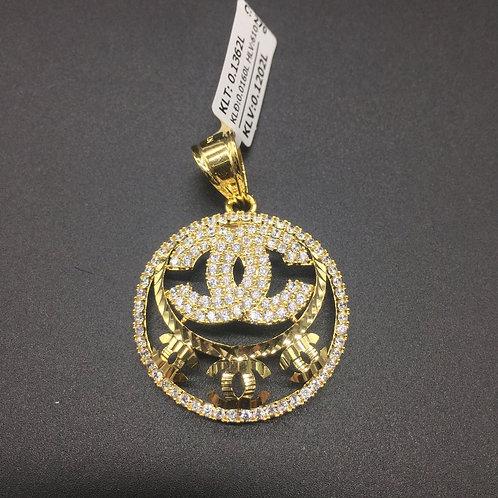 Mặt dây chuyền vàng nữ chanel VJC 610