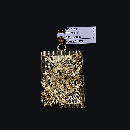 Mặt dây Nam Rồng vàng lớn VJC 610