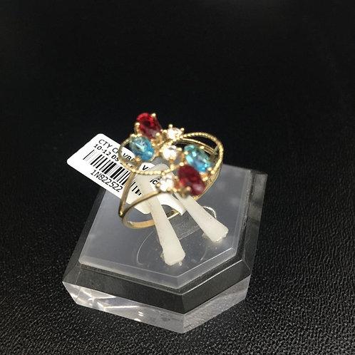 Nhẫn nữ vàng đá nhiều màu VJC 610