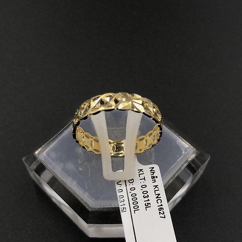 Nhẫn nữ kim tiền vàng VJC 610