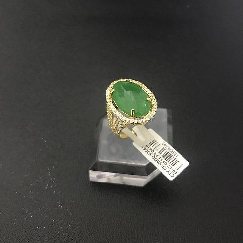Nhẫn nữ vàng đá cẩm thạch VJC 610