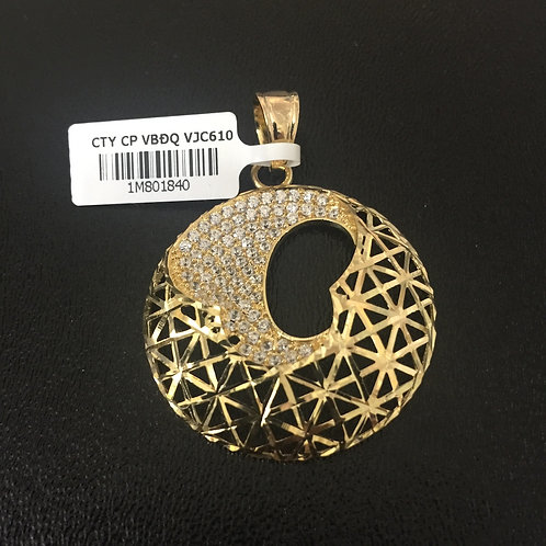 Mặt dây chuyền vàng nữ VJC 610