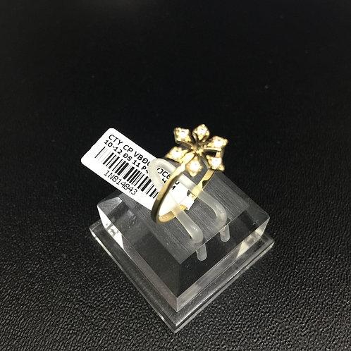 Nhẫn vàng nữ bông tuyết VJC 610