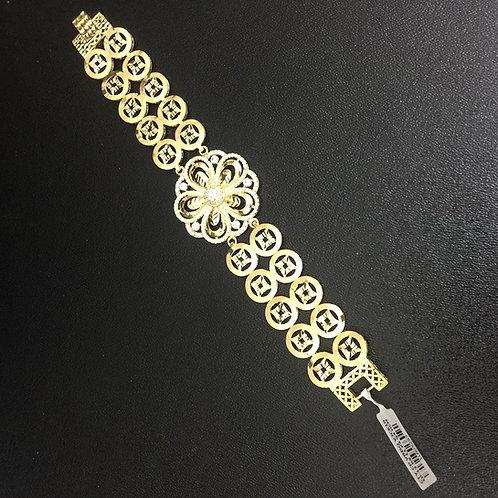 Lắc tay vàng đồng tiền dây đôi VJC 610