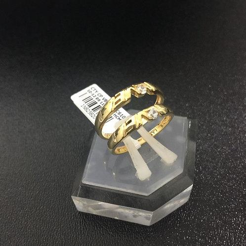 Cặp Nhẫn cưới vàng VJC 610