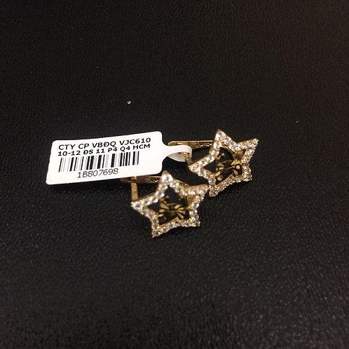 Bông tai vàng ngôi sao VJC 610
