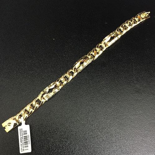 Lắc tay vàng chỉ cong VJC 610
