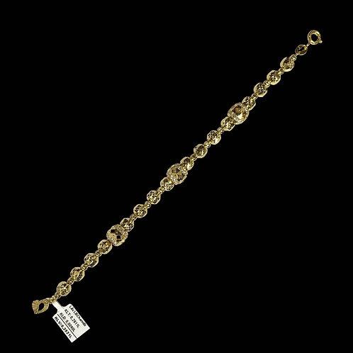 Lắc tay charm bi vàng VJC 610