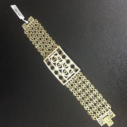 Lắc tay vàng đồng tiền dây tư VJC 610