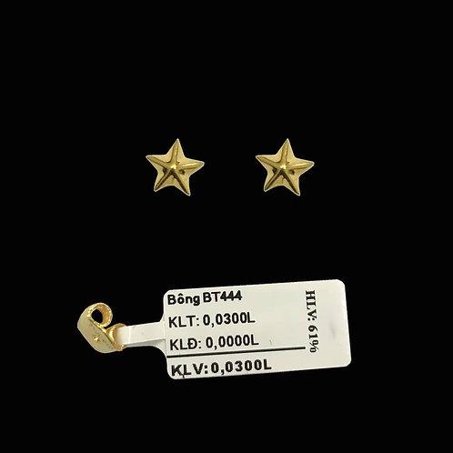 Bông tai ngôi sao vàng VJC 610