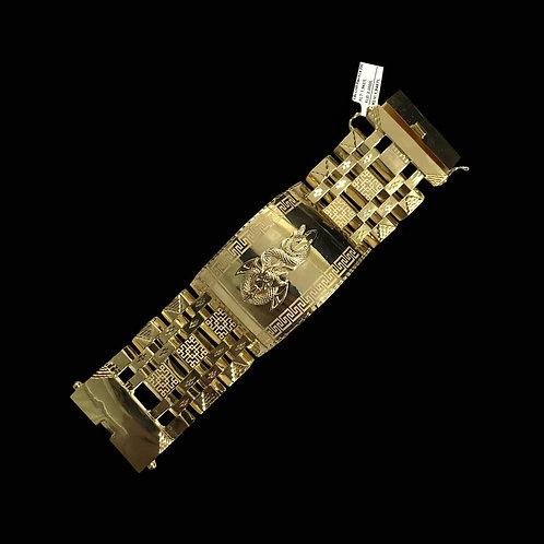 Lắc tay Rồng vàng nam VJC 610
