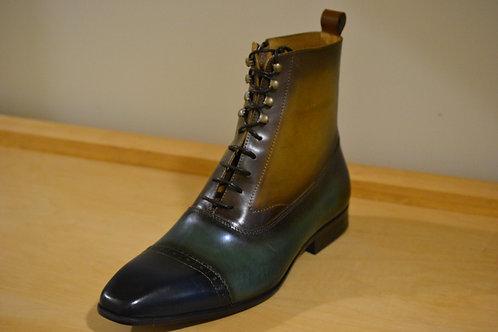 Carrucci Blue/Olive/Cognac Boot
