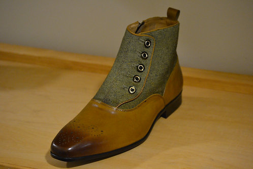 Carrucci Whiskey Zip Boot
