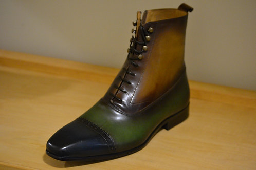 Carrucci Blue/Olive/Cognac Boot