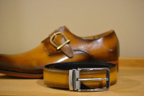Cognac Carrucci Belt