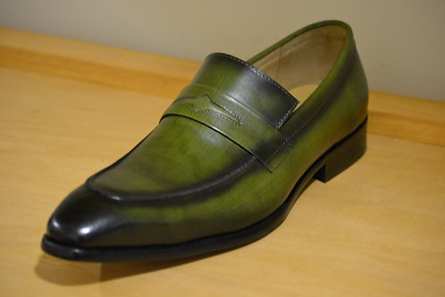 Olive Carrucci Penny Loafer