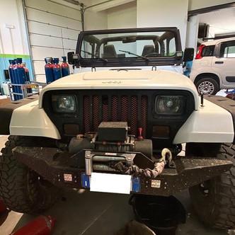 Jeep Wrangler 4000cc