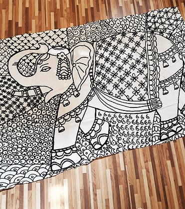 Canga - Estampa Elefante