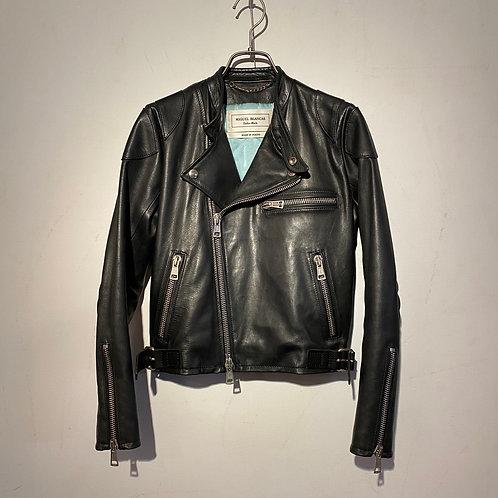 SANDY Motocross Jacket  Black Horsehide  (Women' s)