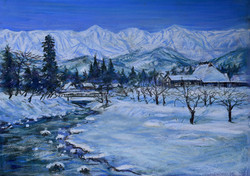 2.白馬の冬