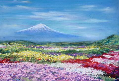 3.富士の春