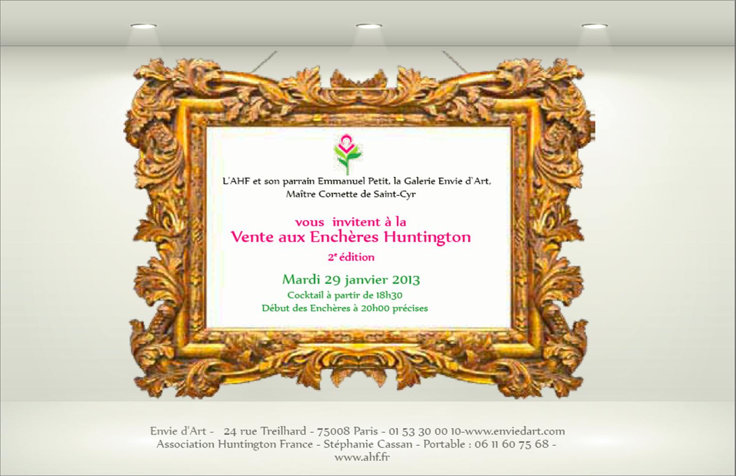 INVIT VAE HUNTINGTON