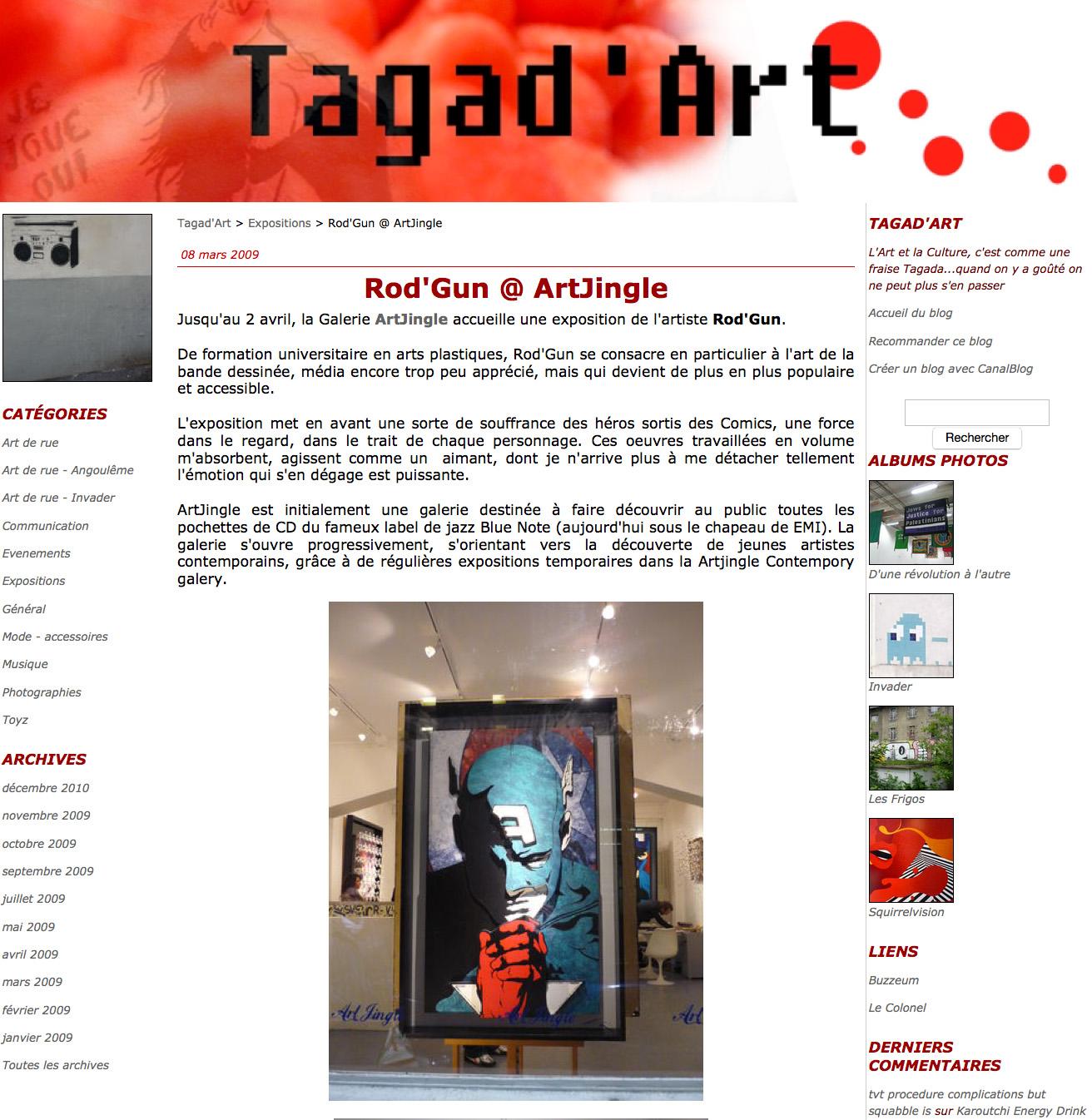 ROD TAGAD ART