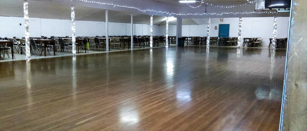 Braun Hall dance floor