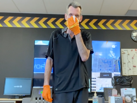 Donning and Doffing an N95 Mask