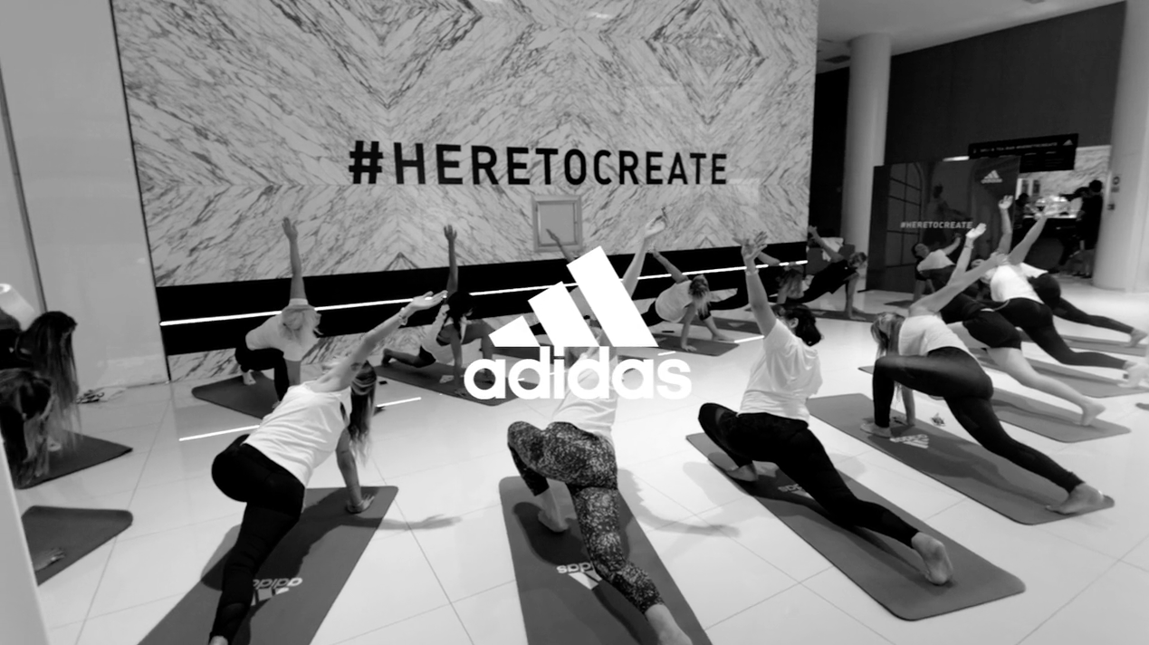 Video evento Adidas