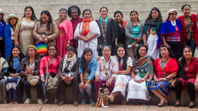 Lanzamiento Consejo Nacional de Mujeres Indígenas de Colombia