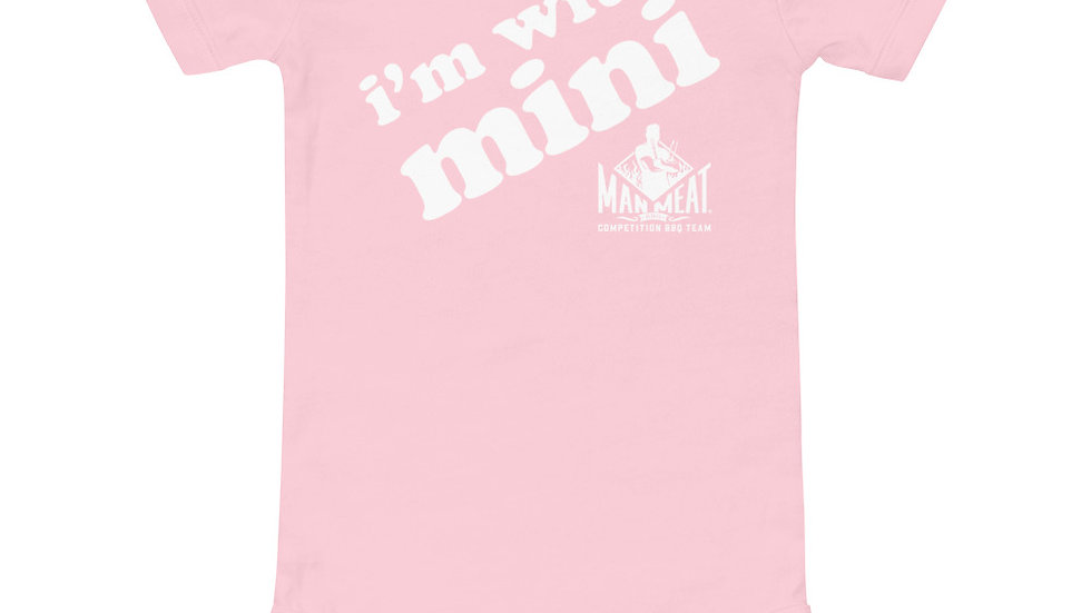 I'm with Mini - Baby short sleeve one piece