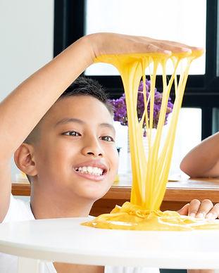 Yellow Slime Fun
