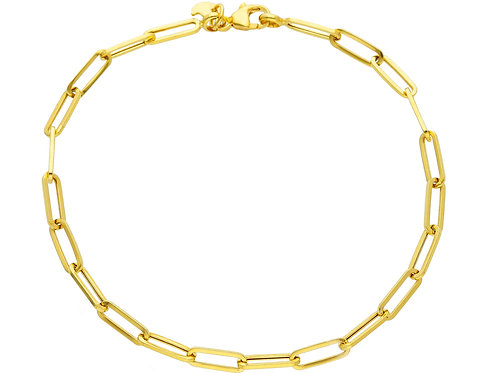 9 Karaat chain bracelet