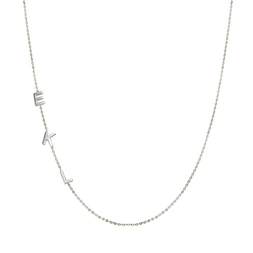 Letter chain necklace 1 letter