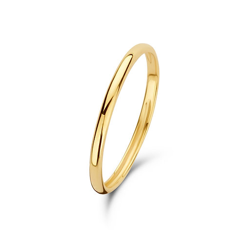 14kt simple ring