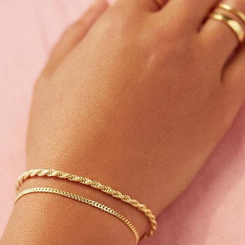 9KT Rope bracelet