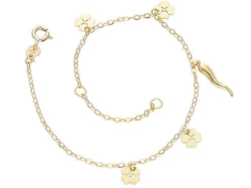 9 karaat lucky bracelet