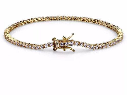 925 gemstone Tennis bracelet