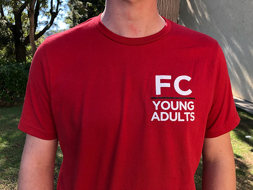 FC Young Adults - Red Tee
