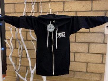 First Love Zip Up - Hoodie