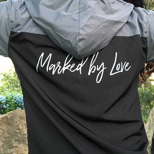 Marked By Love - Black/Gray Windbreaker