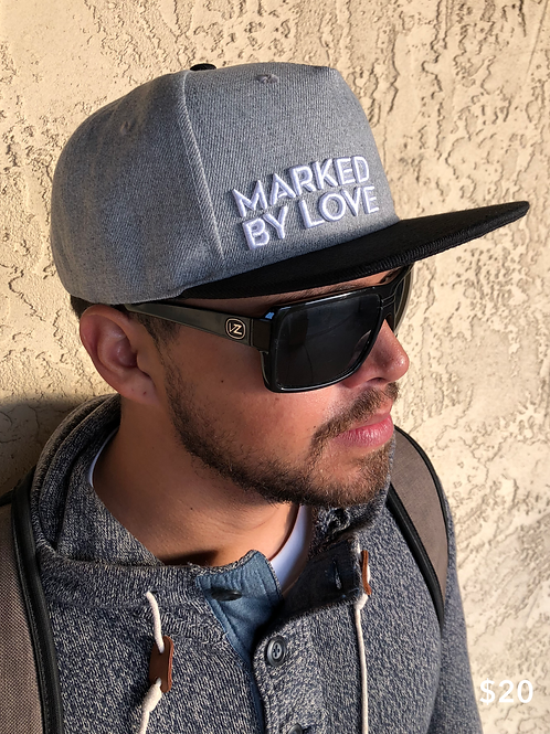 Marked By Love - Snapback Hat