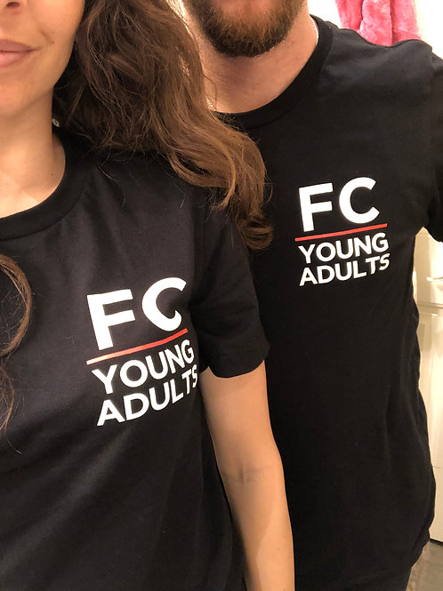 FC Young Adults - Black Tee